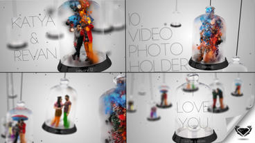 I LoveYou Photo Video Gallery Particular After Effects Project