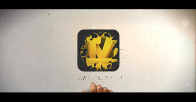 Paint Drop Logo Reveal After Effects Template