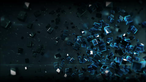Tao Box Space texture 2 Background Animation