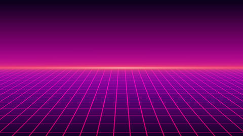 Retro Grid Animation