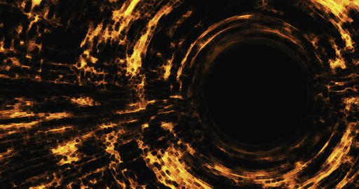 Abstract futuristic sci fi warp tunnel with . Motion graphic internet, speed. Futuristic big data Animation