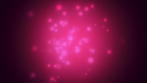 Abstract bokeh and particles falling. Shiny background for Happy New Year and Merry Christmas Animation