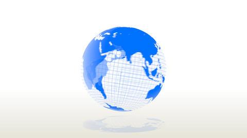 Deforming Earth Animation