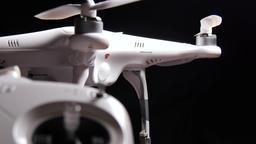 Multirotor drone quadcopter DJI Phantom Footage