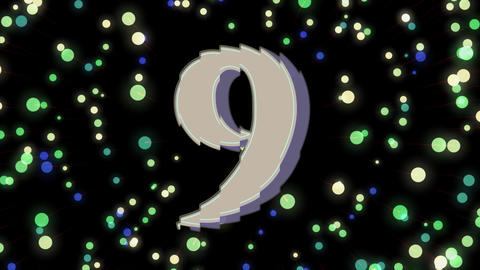 Countdown with Firework Animation