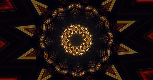 Disco flashing background. DJ visual effects. Geometric… Stock Video Footage