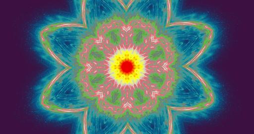 Chakra, meditation, chi, yoga. Aura energy visualization. VJ Lightning burst aura background. 4k Animation