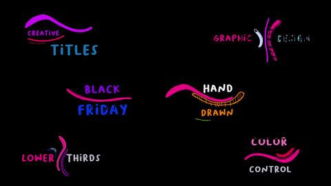 Creative Titles 4K 모션 그래픽 템플릿