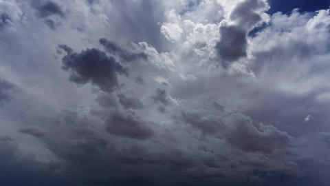 Storm clouds and mammatus clouds timelapse Live Action