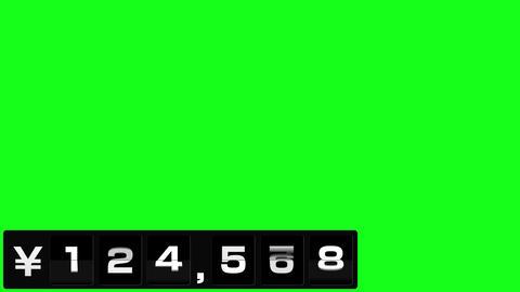 反転フラップ式値段表(6桁) After Effectsテンプレート