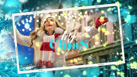 Slideshow Christmas Story Premiere Pro Template