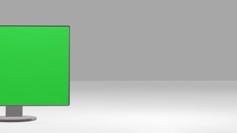 3D monitor Animation