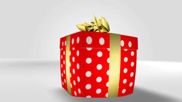 Gift Box After Effects Template
