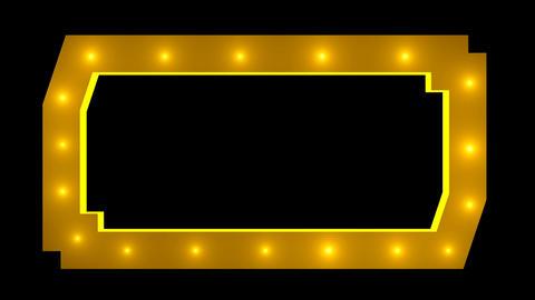 Light blinking border frame Animation