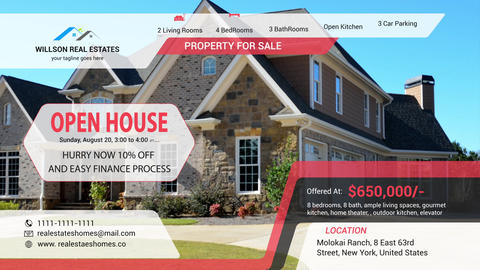 Real Estates Promo After Effects Template