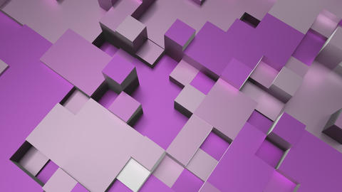 4K Glossy Abstract Tech Background Live Action