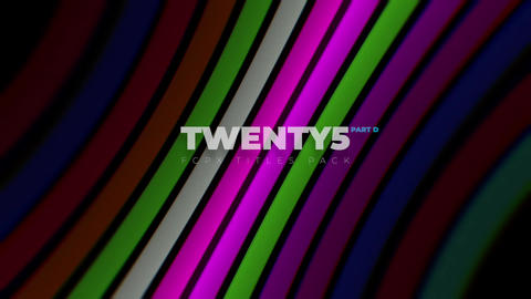 Twenty5 pt.D - FCPX Titles Pack - 3