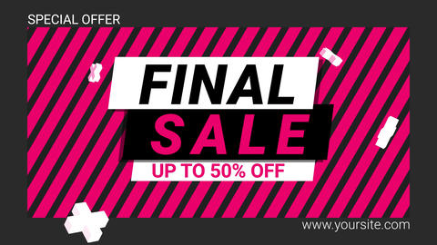 Final SALE Promo After Effectsテンプレート