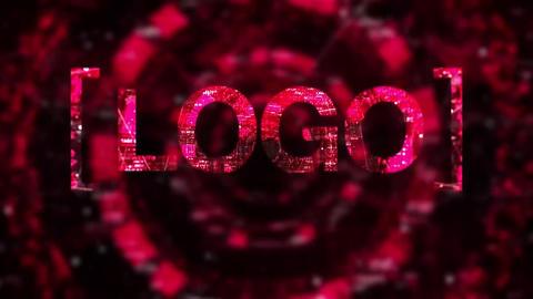 Digital Logo Reveal Premiere Pro Template