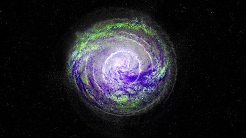 Galaxy 1 - Through Animation