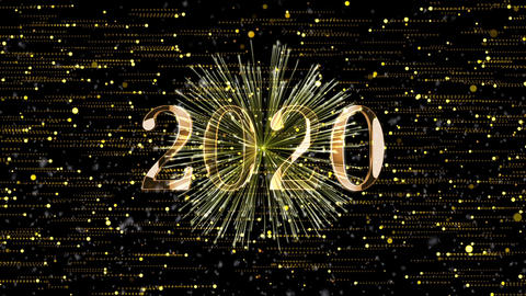 Happy New Year 2020 Countdown Animation