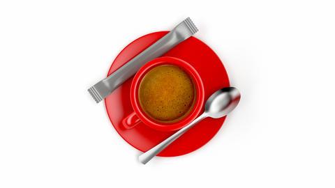Espresso coffee Animation