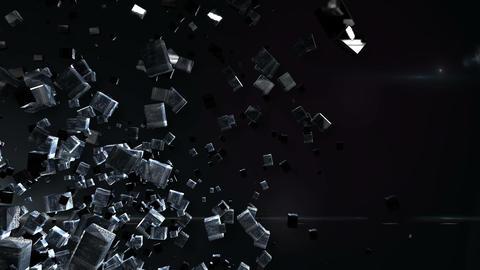 Abstract BG left down Animation
