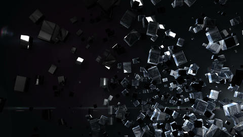 Abstract BG right down Animation