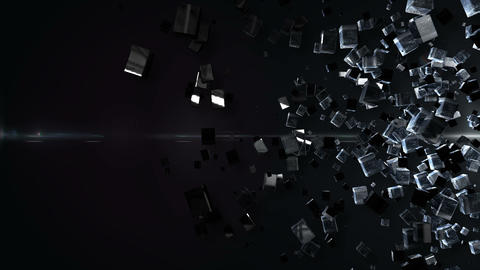 Abstract BG right Animation