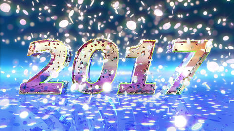 New Year 2017 Animation Animation