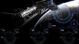 Orbital maneuver Animation