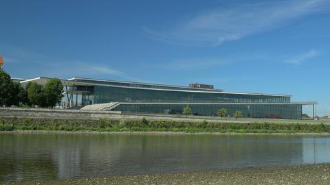 Modern Architecture - International Congress Center Dresden Footage