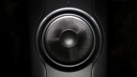 Professional studio subwoofer speaker Footage