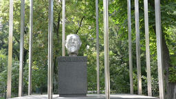 Bust of Karl Renner Footage