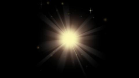 輝く光 背景素材 勝利の象徴 CG動画