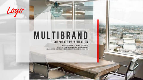Corporate Multibrand Intro After Effects Template