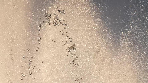 Drops of the fountain against the sky, Live Action