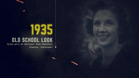 UNI - History Slideshow After Effects Template