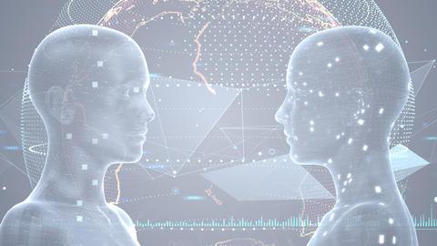 AI artificial intelligence digital network technologies 19 3 Duo 7 gray 3 4k Animation