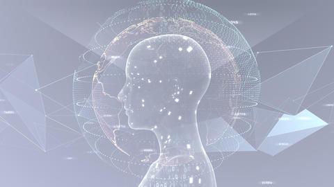 AI artificial intelligence digital network technologies 19 3 Mix 7 gray 3 4k Animation