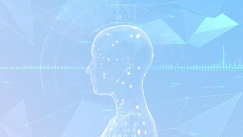AI artificial intelligence digital network technologies 19 3 Mix 7 gray 2 4k Animation