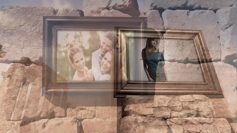 Desert Photo Gallery After Effects Template
