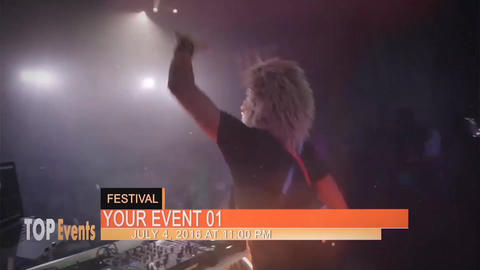 Top Events After Effects Template