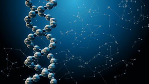 DNA Science Background Animation