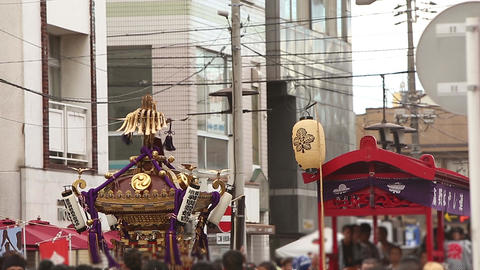 Summer festivals and traditions of Japan/お夏祭りとおみこし Footage