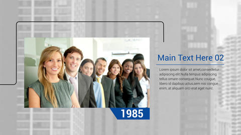 Corporate Timeline After Effects Template