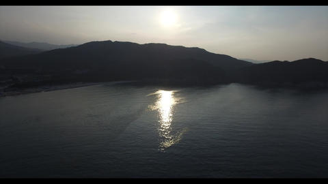 강원도 동해 일몰1 sunset ภาพวิดีโอ