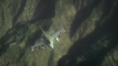 F16 In Fly Animation