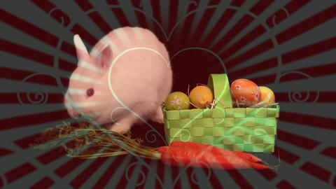 Rabbit and vegetables Animation