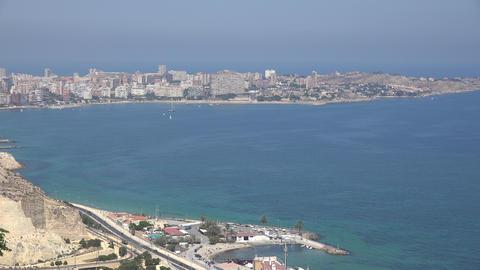 Coastal Ocean Bay Or Harbor Footage